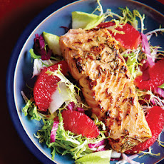 Salmon & Blood Orange Salad
