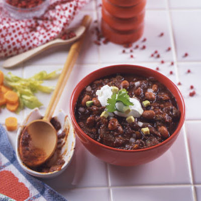 Ding Dong Eight-Alarm Chili
