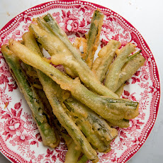 Batter-Fried Scallions