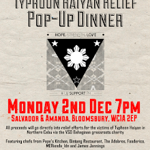 Typhoon Haiyan Relief Pop-up Restaurant