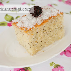 Revani With Poppy Seeds