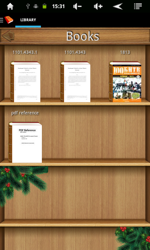 PDF and DJVU Reader Screenshot 16