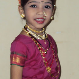 My daughter by V B Esh - People Family