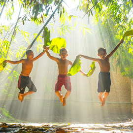 happiness is simple by Wisnu Widayat - Babies & Children Children Candids
