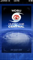 Screenshot of WDSU Hurricane Central