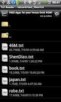 Screenshot of Android Txt EBook Reader