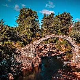 Carrbridge by Stuart Lilley - Landscapes Waterscapes ( water, bridge, landscapes, landscape, bridges,  )