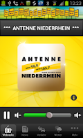 Screenshot of Antenne Niederrhein