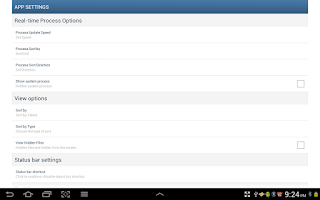 Screenshot of Android File Manager