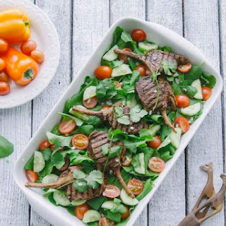 Cumin Lamb Salad with Spicy Dressing