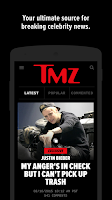 Screenshot of TMZ
