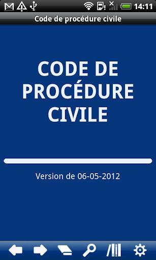 French Civil Procedure Code