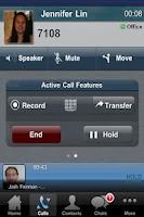 Screenshot of Fonality HUD Mobile
