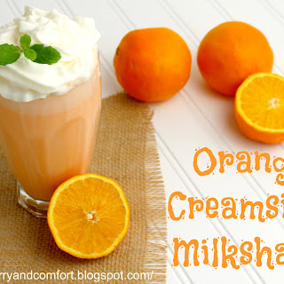 Orange Creamsicle Milkshake