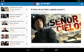 Screenshot of Telemundo 51