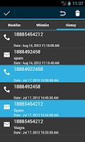 Screenshot of Blacklist-SMS,MMS,Call Blocker