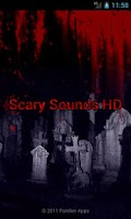 Screenshot of Scary Sounds HD