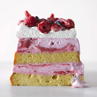 Very Berry Ice Cream Cake