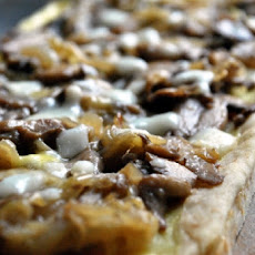 Mushroom and Goat Cheese Tart