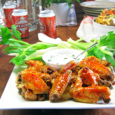 Spicy Chicken Wings - pressure cooker