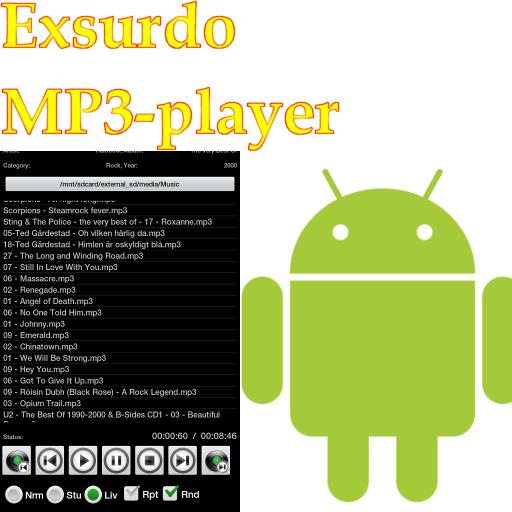 Exsurdo MP3-player 音樂 App LOGO-硬是要APP
