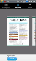 Screenshot of Pediatrics