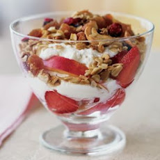 Granola and Ricotta Cream Parfait
