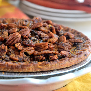 Organic Spiced Chocolate Pecan Pie