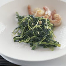 Stir-Fried Pea Shoots with Garlic