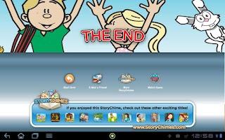 Screenshot of Ricky Garden Gods StoryChimes