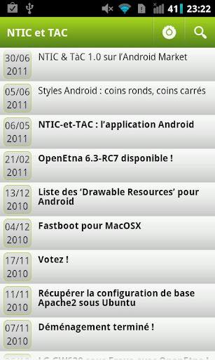 NTIC et TAC
