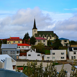 Bogarnes, Iceland by Tyrell Heaton - City,  Street & Park  Neighborhoods ( iceland, bogarnes )