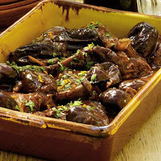 Coq Au Vin With Plump Prunes