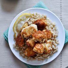 Crispy Honey Lemon Chicken
