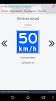 Screenshot of Gratis Verkeersborden Oefenen