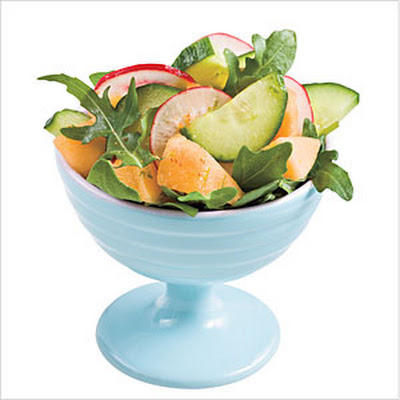 Cucumber-Melon Salad