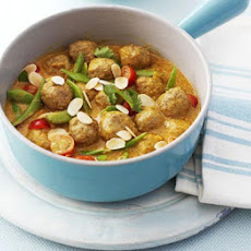 Turkey Meatball Korma