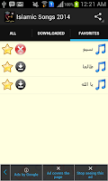 Screenshot of Best Islamic Songs 2014