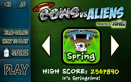 cows-vs-aliens for android screenshot