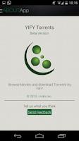 Screenshot of YIFY Torrents Beta