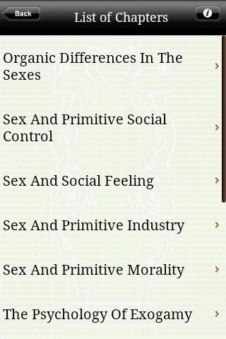 【免費書籍App】Sex and Society-APP點子