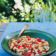Tomato, Basil, and White-Bean Salad