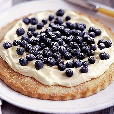 Cinnamon Blueberry Tart