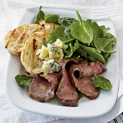 Rosemary-Dijon Grilled Steak Salad
