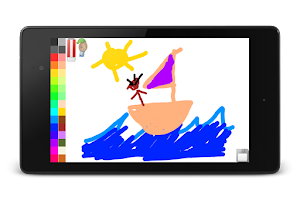 Screenshot of Blackboard for toddlers FREE