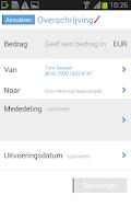 Screenshot of Mobile Banking Service