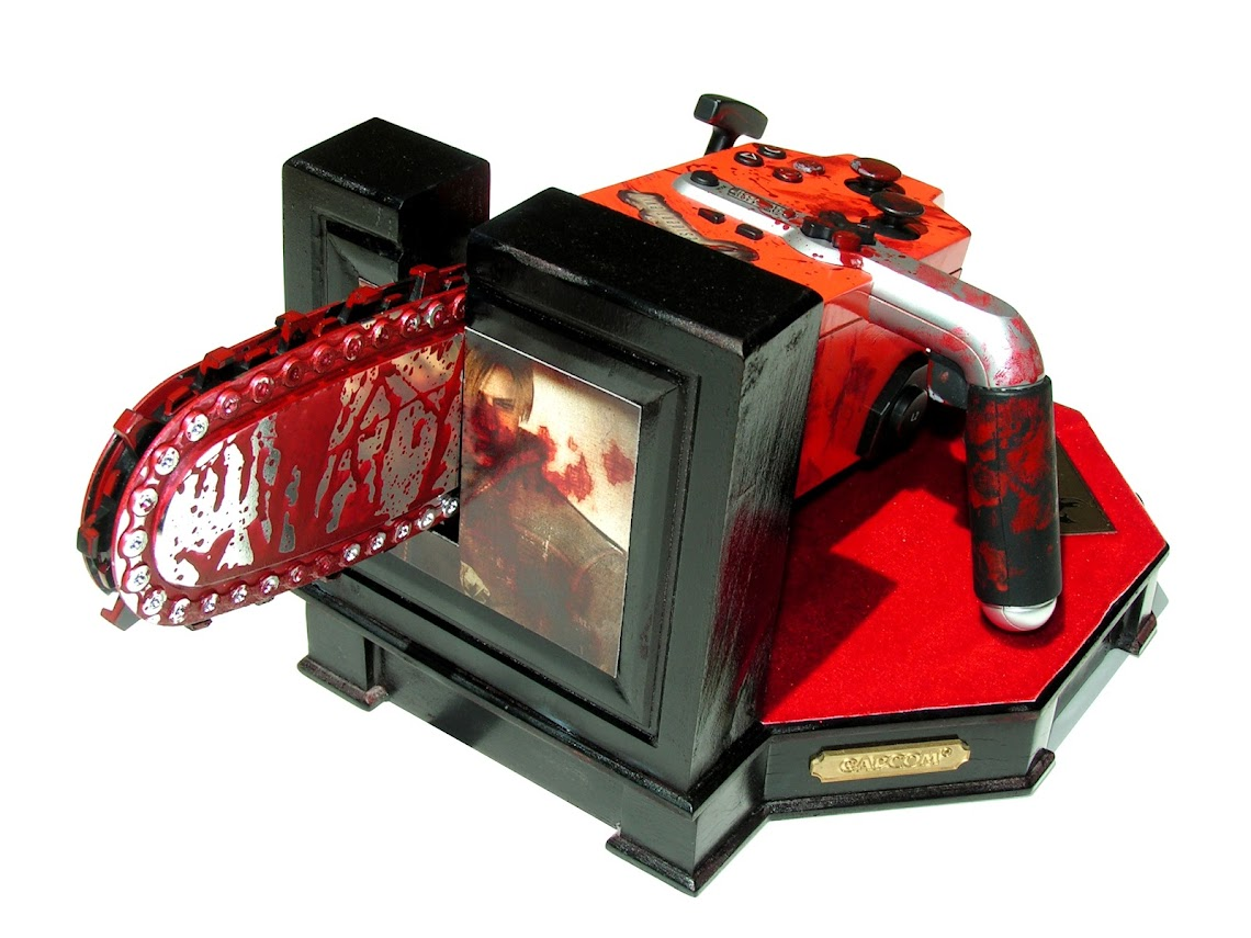 Resident Evil 4 Chainsaw Controller