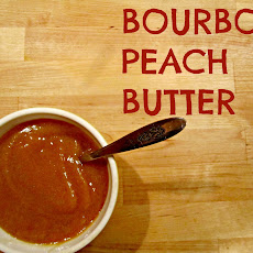 Homemade Bourbon Peach Butter