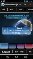 Screenshot of Countdown Widget Lite