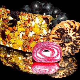 candy,dessert and grape by LADOCKi Elvira - Food & Drink Candy & Dessert ( candy )